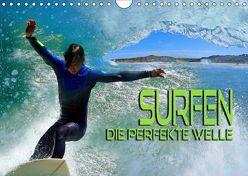 Surfen – die perfekte Welle (Wandkalender 2019 DIN A4 quer) von Bleicher,  Renate