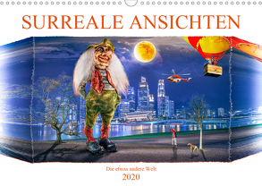 Surreale Ansichten (Wandkalender 2020 DIN A3 quer) von Gödecke,  Dieter