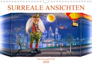 Surreale Ansichten (Wandkalender 2020 DIN A4 quer) von Gödecke,  Dieter