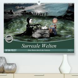 Surreale Welten (Premium, hochwertiger DIN A2 Wandkalender 2021, Kunstdruck in Hochglanz) von Buch,  Norbert