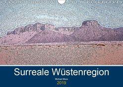 Surreale Wüstenregion (Wandkalender 2019 DIN A4 quer) von Moos,  Michael