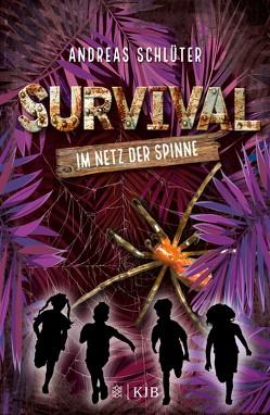 Survival – Im Netz der Spinne von Kampmann,  Stefani, Schlüter,  Andreas