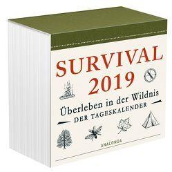 Survival Kalender 2019 von Canterbury,  Dave