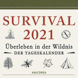 Survival Kalender 2021 von Canterbury,  Dave, Mayer,  Felix