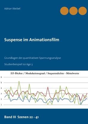 Suspense im Animationsfilm Band III Szenen 22 – 41 von Weibel,  Adrian