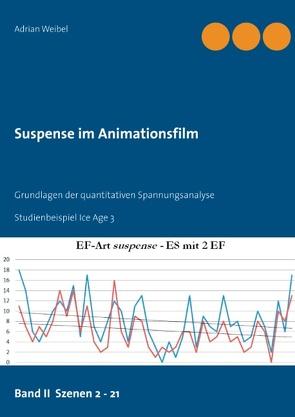 Suspense im Animationsfilm Band II Szenen 2 – 21 von Weibel,  Adrian