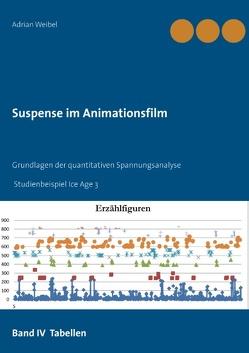 Suspense im Animationsfilm Band IV Tabellen von Weibel,  Adrian