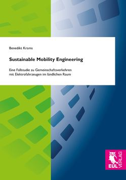 Sustainable Mobility Engineering von Krams,  Benedikt