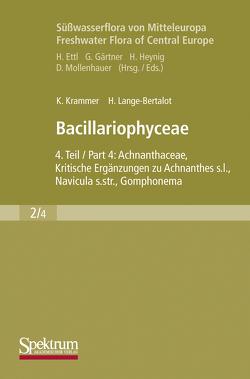 Süßwasserflora von Mitteleuropa, Bd. 02/4: Bacillariophyceae von Krammer,  Kurt, Lange-Bertalot,  Horst