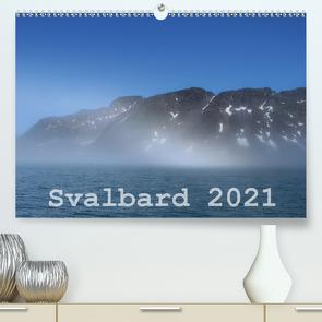 Svalbard 2021 (Premium, hochwertiger DIN A2 Wandkalender 2021, Kunstdruck in Hochglanz) von Midding,  Michael