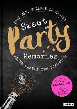 Sweet Memories: Party! Ausfüllbuch für Partygäste von Legal,  Jana, Masztalerz,  Piero