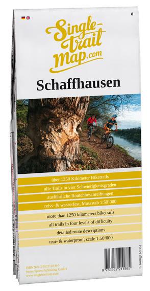 Swiss Singletrail Map / Schaffhausen von Giger,  Thomas