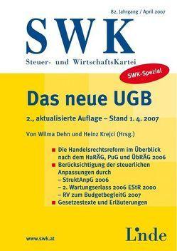 SWK-Spezial Das neue UGB von Dehn,  Wilma, Krejci,  Heinz
