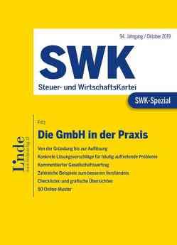 SWK-Spezial Die GmbH in der Praxis von Fritz,  Christian