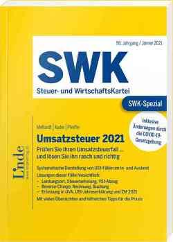 SWK-Spezial Umsatzsteuer 2021 von Kuder,  Bernhard, Melhardt,  Stefan, Pfeiffer,  Sebastian