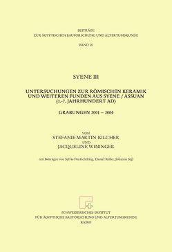 Syene III von Martin Kilcher,  Stefanie, Wininger,  Jacqueline
