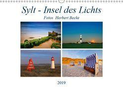 Sylt – Insel des Lichts (Wandkalender 2019 DIN A3 quer) von derBecke