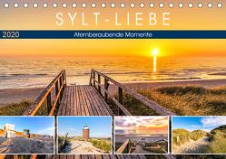 SYLT-LIEBE Atemberaubende Momente (Tischkalender 2020 DIN A5 quer) von Dreegmeyer,  Andrea
