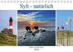 Sylt – natürlich (Tischkalender 2019 DIN A5 quer) von Krone,  Elke
