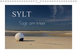 Sylt – Tage am Meer (Wandkalender 2018 DIN A4 quer) von Hoeg,  Tanja