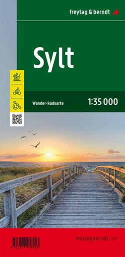 Sylt, Wander- und Radkarte 1:35.000