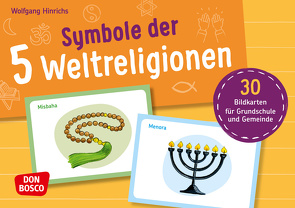 Symbole der Weltreligionen von Hinrichs,  Wolfgang, Pohl,  Gabriele