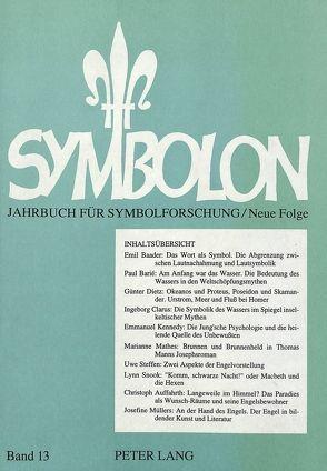 Symbolon – Jahrbuch für Symbolforschung von Gerlitz,  Peter