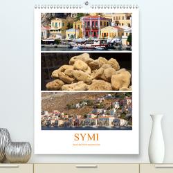 SYMI – Insel der Schwammtaucher (Premium, hochwertiger DIN A2 Wandkalender 2021, Kunstdruck in Hochglanz) von r.gue.