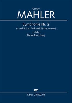 Symphonie Nr. 2 (Klavierauszug) von Mahler,  Gustav