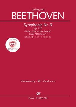 Symphonie Nr. 9. Finale (Klavierauszug XL zu allen gängigen Ausgaben) von Beethoven,  Ludwig van