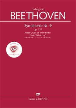 Symphonie Nr. 9. Finale (Klavierauszug zu allen gängigen Ausgaben) von Beethoven,  Ludwig van