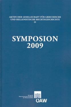Symposion 2009 von Thür,  Gerhard