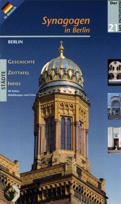 Synagogen in Berlin von Domke,  Petra