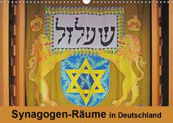 Synagogen-Räume in Deutschland (Wandkalender 2019 DIN A3 quer) von Vorndran,  Hans-Georg