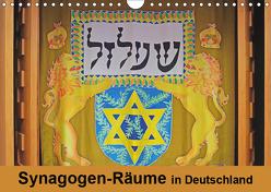 Synagogen-Räume in Deutschland (Wandkalender 2019 DIN A4 quer) von Vorndran,  Hans-Georg