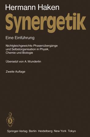 Synergetik von Haken,  Hermann, Wunderlin,  Arne