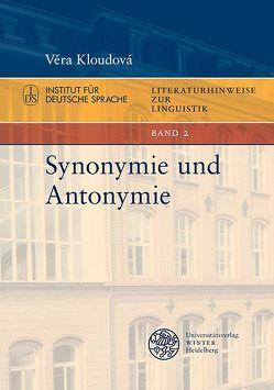 Synonymie und Antonymie von Kloudová,  Věra