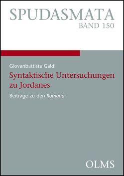 Syntaktische Untersuchungen zu Jordanes von Galdi,  Giovanbattista