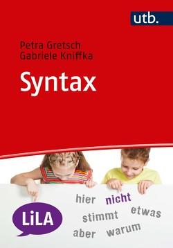 Syntax von Gretsch,  Petra, Kniffka,  Gabriele