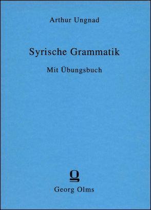 Syrische Grammatik von Ungnad,  Arthur