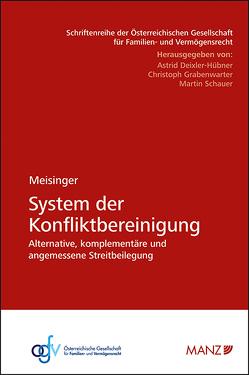System der Konfliktbereinigung von Meisinger,  Alexander