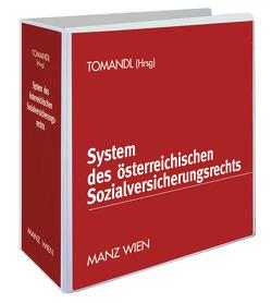 System des österreichischen Sozialversicherungsrechts inkl. 34. Erg.-Lfg. von Tomandl,  Theodor