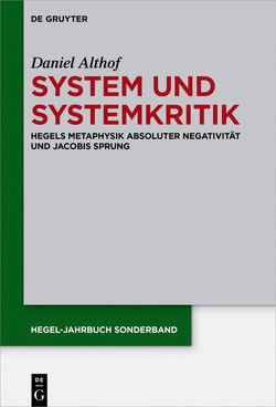 System und Systemkritik von Althof,  Daniel