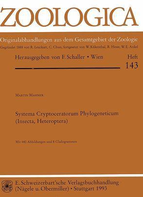 Systema ryptoceratorum Phylogeneticum (Insecta, Heteroptera) von Mahner,  Martin