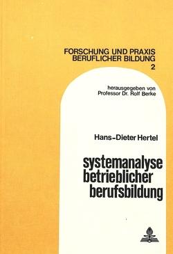 Systemanalyse betrieblicher Berufsbildung