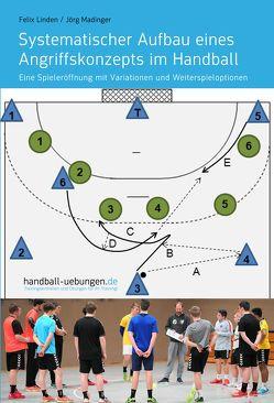 Systematischer Aufbau eines Angriffskonzepts im Handball von Linden,  Felix, Madinger,  Jörg