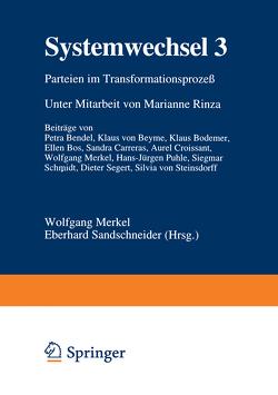 Systemwechsel 3 von Merkel,  Wolfgang, Sandschneider,  Eberhard