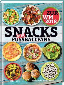 SZ Gourmet Edition: Snacks für Fußballfans von Frenzel,  Ralf