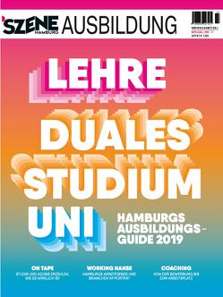 SZENE HAMBURG AUSBILDUNG 2018/2019 von Verlagskontor für Medieninhalte GmbH