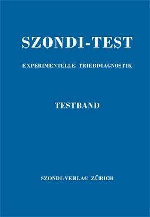 Szondi-Test. Experimentelle Triebdiagnostik von Szondi,  Leopold